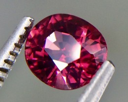 0.82 Crt Natural Rhodolite Garnet Faceted Gemstone.( AG 49)