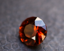 2.64 CT 100% Natural Orange Red Garnet Hessonite Faceted Cut