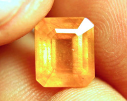 4.97 Carat Glass Treated Yellow Sapphire - Beautiful