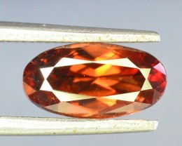 1.95 ct Natural Brown Zircon From Cambodia
