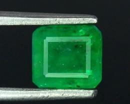 1.00 ct Natural Vivid Green Color Emerald~Swat