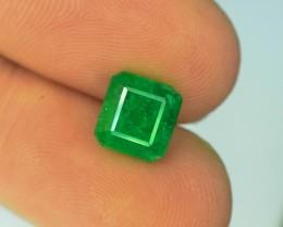 2.20 ct Natural Vivid Green Color Emerald~Swat