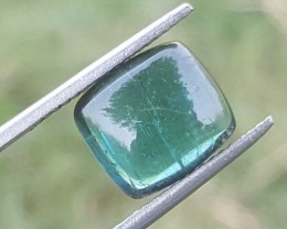 3.50 carats indicolite tourmaline cabochon  from Afghanistan