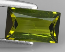 1.00 CTS SPLENDID RARE NATURAL GREEN TOURMALINE MOZAMBIQUE