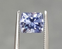 1.12 CT PERIWINKLE BLUE SAPPHIRE - MASTER CUT!  UNTREATED!