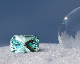 6.48 CT UNTREATED AQUAMARINE - MASTER CUT!
