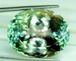 NR ~ 79.35 cts Green Spodumene ~ Afghanistan