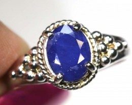 17.20-CTS  SAPPHIRE RING BLUE     SG-2690