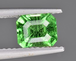 Natural Tsavorite Garnet 1.24 Cts Faceted Gemstone