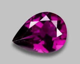 1.26 CT GRAPE GARNET TOP LUSTER GEMSTONE G8