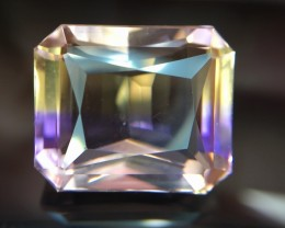 13.85 Crt Ametrine Top Quality  Faceted Gemstone (R 19)