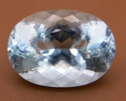 10.80 Crt Aquamarine Faceted Gemstone (R 19)