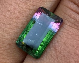 6.65 cts AAA Tricolor Tourmaline - Blue / Pink / Green - Brazilian $799