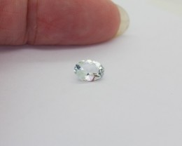 0.650Ct Aquamarine Natural Colour