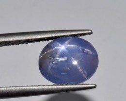 Natural Star Sapphire 5.04 Cts Blue Color, 6 Rays from Burma
