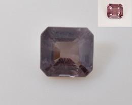 Natural Color Changing Garnet 0.90 Cts Faceted Gemstone