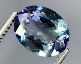 2.27 Crt Natural Tanzanite Good Quality Faceted Gemstone(Tz 01)