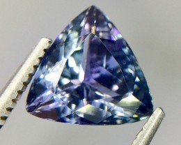 1.93 Crt Natural Tanzanite Top luster Faceted Gemstone(Tz 06)