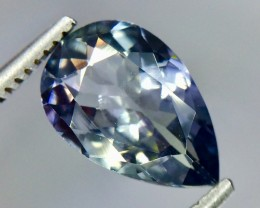 1.82 Crt Natural Tanzanite Top luster Faceted Gemstone( Tz 07)