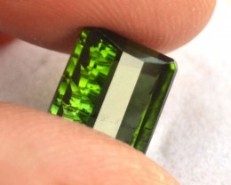 5.22 Carat Fancy Cut Green Tourmaline