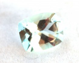 4.05 Carat Very Fine Cushion Cut Aquamarine