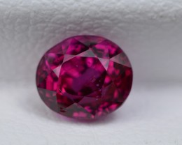 GIA CERTIFIED UNHEATED BURMESSE 1.09 CTS  STUNNING RARE RED RUBY MOGAK