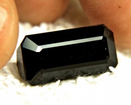 CERTIFIED - 14.90 Carat Natural Black Tourmaline - Gorgeous