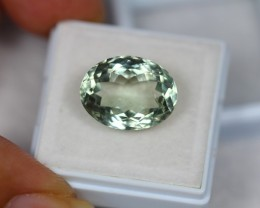 9.35Ct Green Amethyst Oval Cut Lot LZ1199