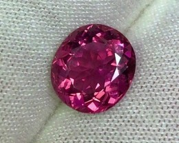 3.05 cts VVS Rubellite Pink Tourmaline - Intense Color - Jewelry Grade