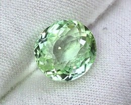 6.20 cts AAA Mint Green Tourmaline - Loupe Clean VVS+ $1200