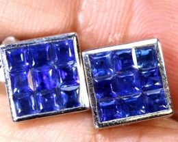 18 CTS  - SAPPHIRE EARRING BLUE   SG-2703