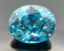 6.70 Crt Zircon Combodia Top Quality Faceted Gemstone (R 20)