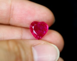 3.78cts Madagascar VS Blood Red Ruby