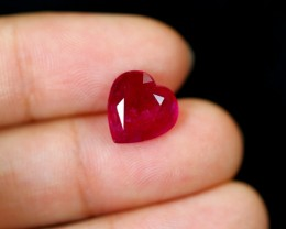 4.24cts Madagascar VS Blood Red Ruby