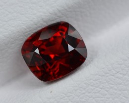 UNTREATED 1.56 CTS STUNNING TOP QUALITY VIVID RED SPINEL BURMA MYANMAR