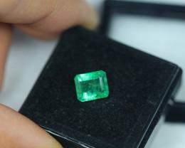 1.62ct Zambia Green Emerald Lot GW2251