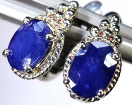 19.20-CTS  SAPPHIRE EARRING BLUE   SG-2728
