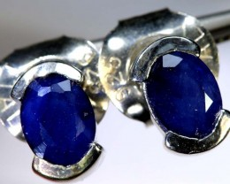 16.20-CTS  SAPPHIRE EARRING BLUE   SG-2729