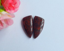 22ct Natural dragon bone fossil cabochon beads (18091125)