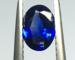 1ct Natural Blue Sapphire