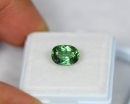 2.31Ct Green Tourmaline Oval Cut Lot LZB214