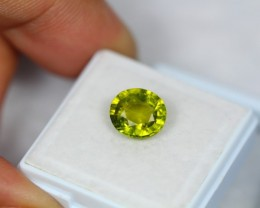 2.65Ct Green Tourmaline Oval Cut Lot LZB215