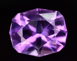 3.70 Ct Marvelous Color Natural Amethyst ~ Uruguay