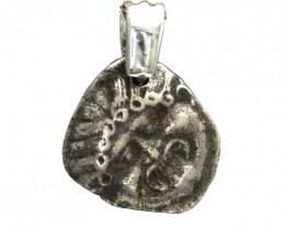 Rare Original Ancient Greek Silver Coin Pendant 6th to 5th Century BC