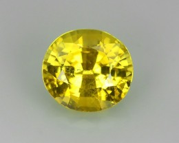 1.08~CTS MASTER OVAL CUT NATURAL ~ YELLOW ~ CHRYSOBERYL~ Excellent ~