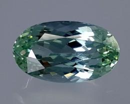 7.70Crt Green Spodumene  Best Grade Gemstones JI27