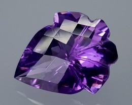 12.70Crt Amethyst Special Cut  Best Grade Gemstones JI27