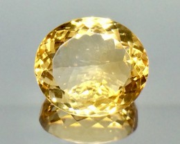 13.33 Crt Natural Citrine Faceted Gemstone.( AG 52)