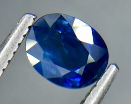 0.65 Crt Natural Sapphire Faceted Gemstone.( AG 78)
