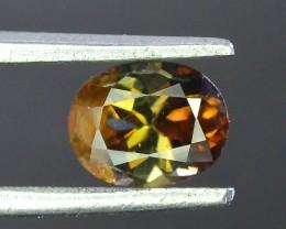 Rare 0.90 ct Multicolor Natural Axinite
